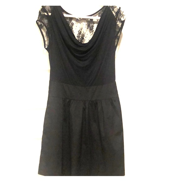 43d906cf443 Express Women's Black Dress with lace